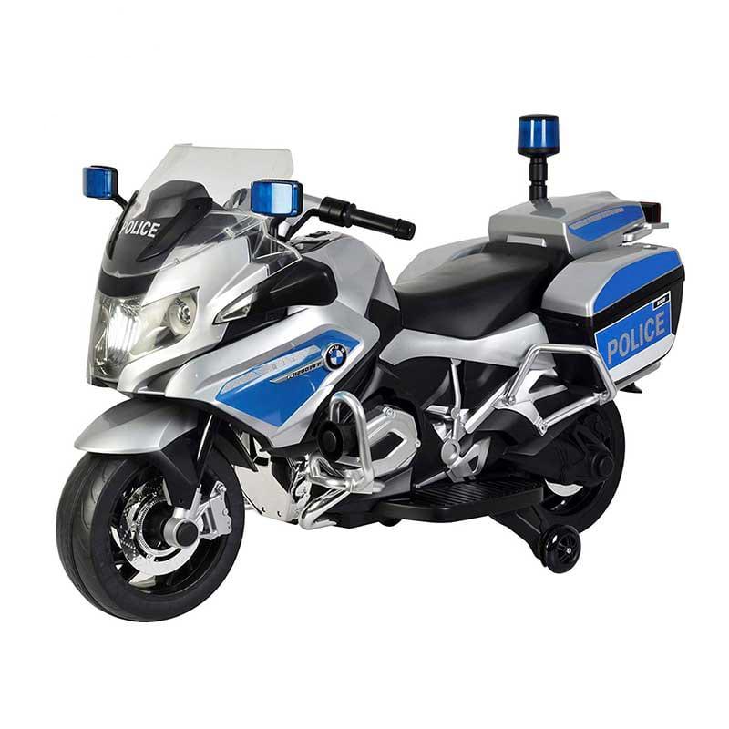 عکس موتور شارژی پلیس BMW