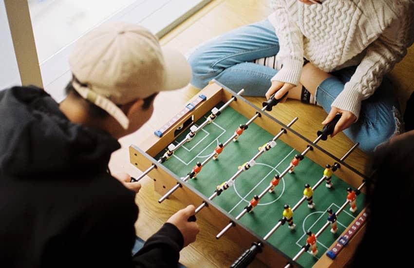 عکس آموزش حرفه ای فوتبال دستی