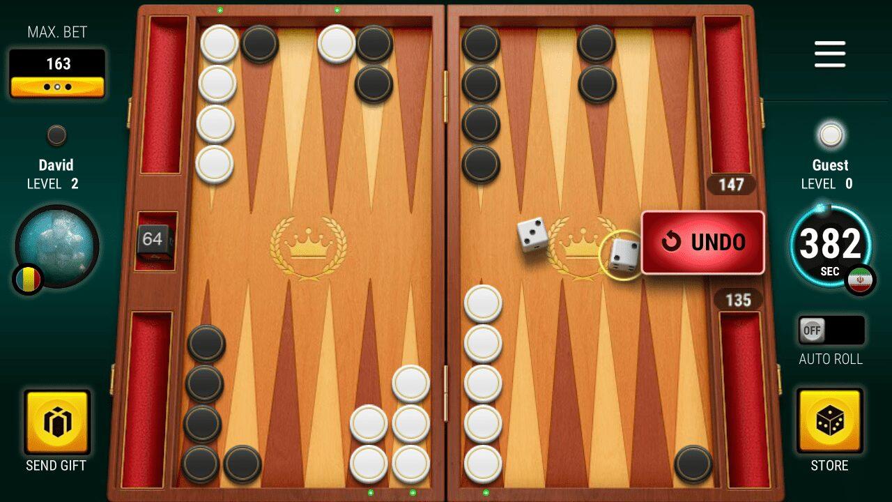 عکس تخته نرد مهیج ترین بازی دو نفره