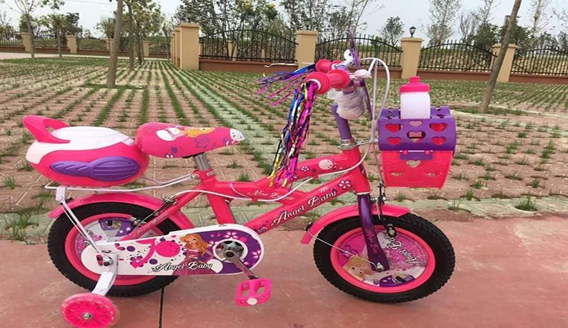 عکس دوچرخه دخترانه آنجلا بیبی سایز 12