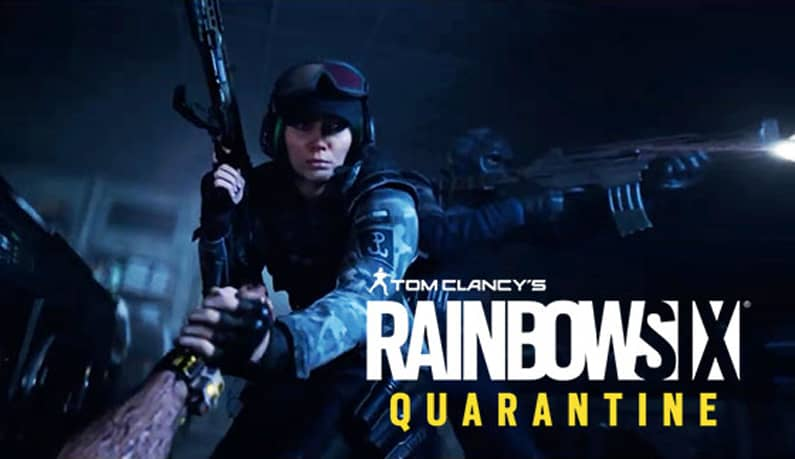 عکس بازی Rainbow Six Quarantine
