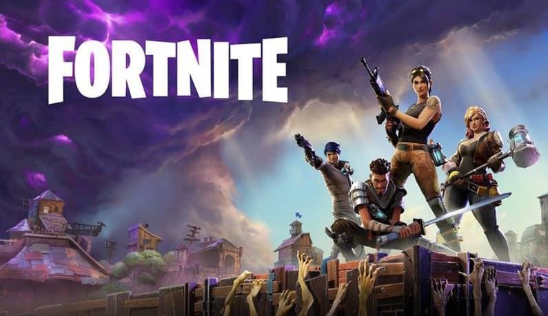 بازی 4. بازی Fortnite