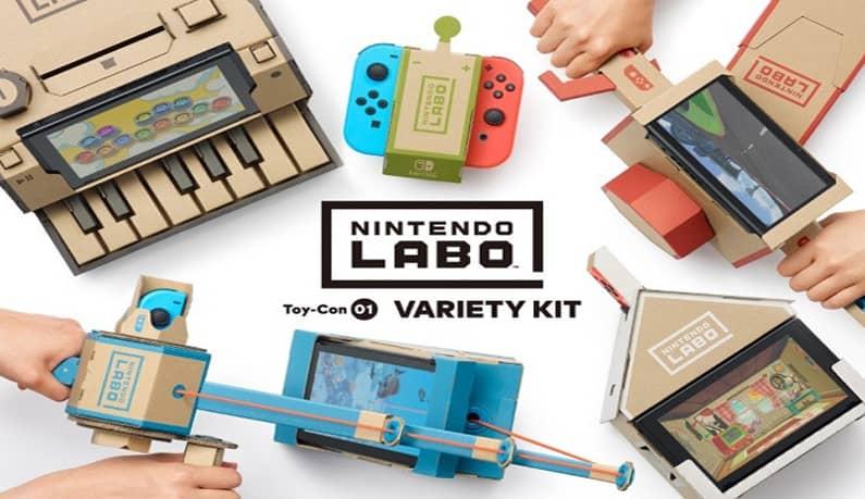 عکس بازی Nintendo Labo Variety Pack