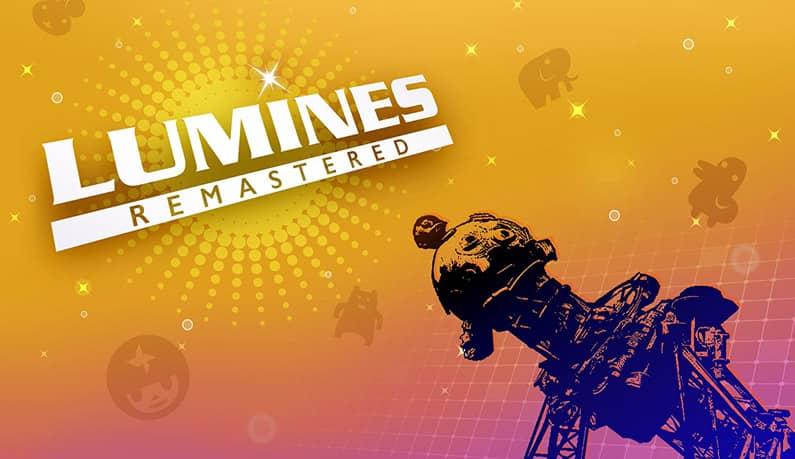عکس بازی Lumines Remastered