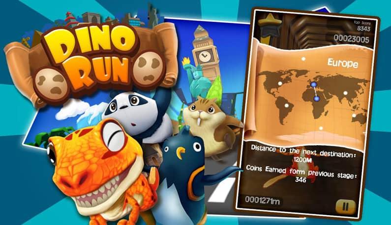 عکس بازی Dino Run