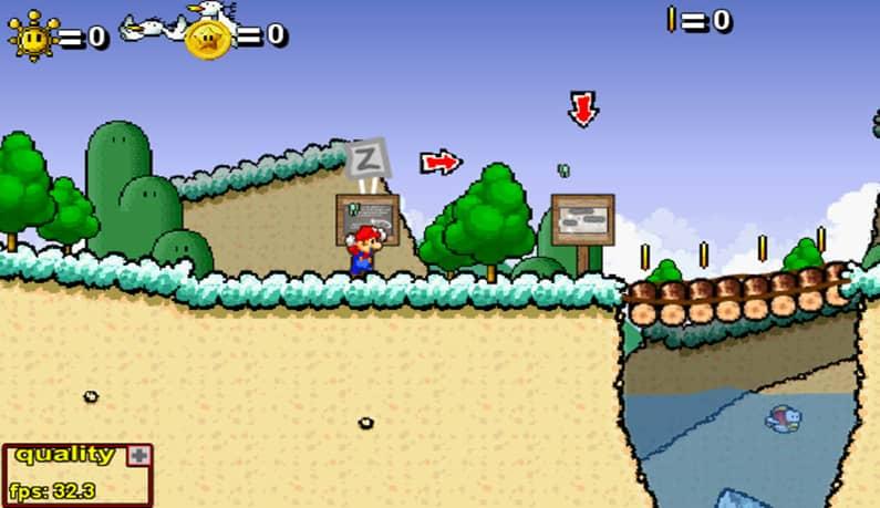 عکس بازی Super Mario 63