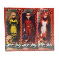 عروسک مدل دختر کفشدوزکی کد tm03 ارتفاع 28 سانتی متر مجموعه 3 عددی