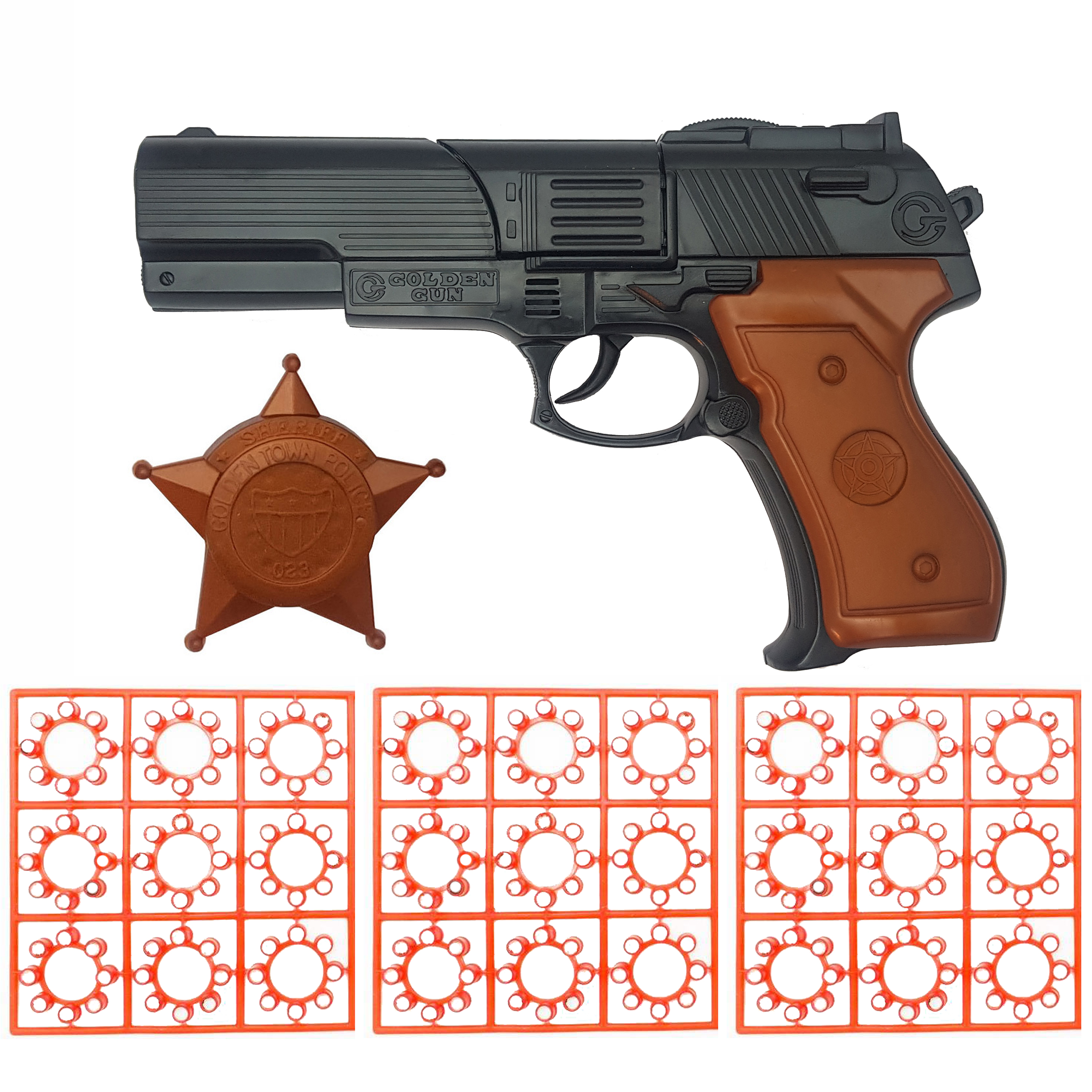 عکس تفنگ اسباب بازی گلدن گان مدل naabsell32