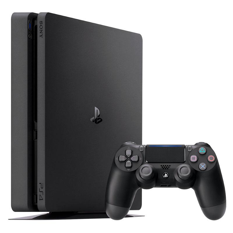 عکس کنسول بازی سونی مدل Playstation 4 Slim ریجن 3 کد CUH-2218B ظرفیت 1 ترابایت