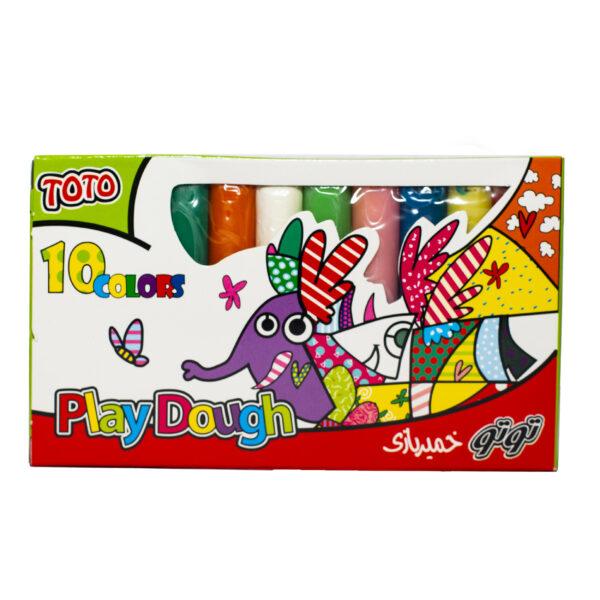 خمیر بازی توتو کد 1102 بسته 10 عددی