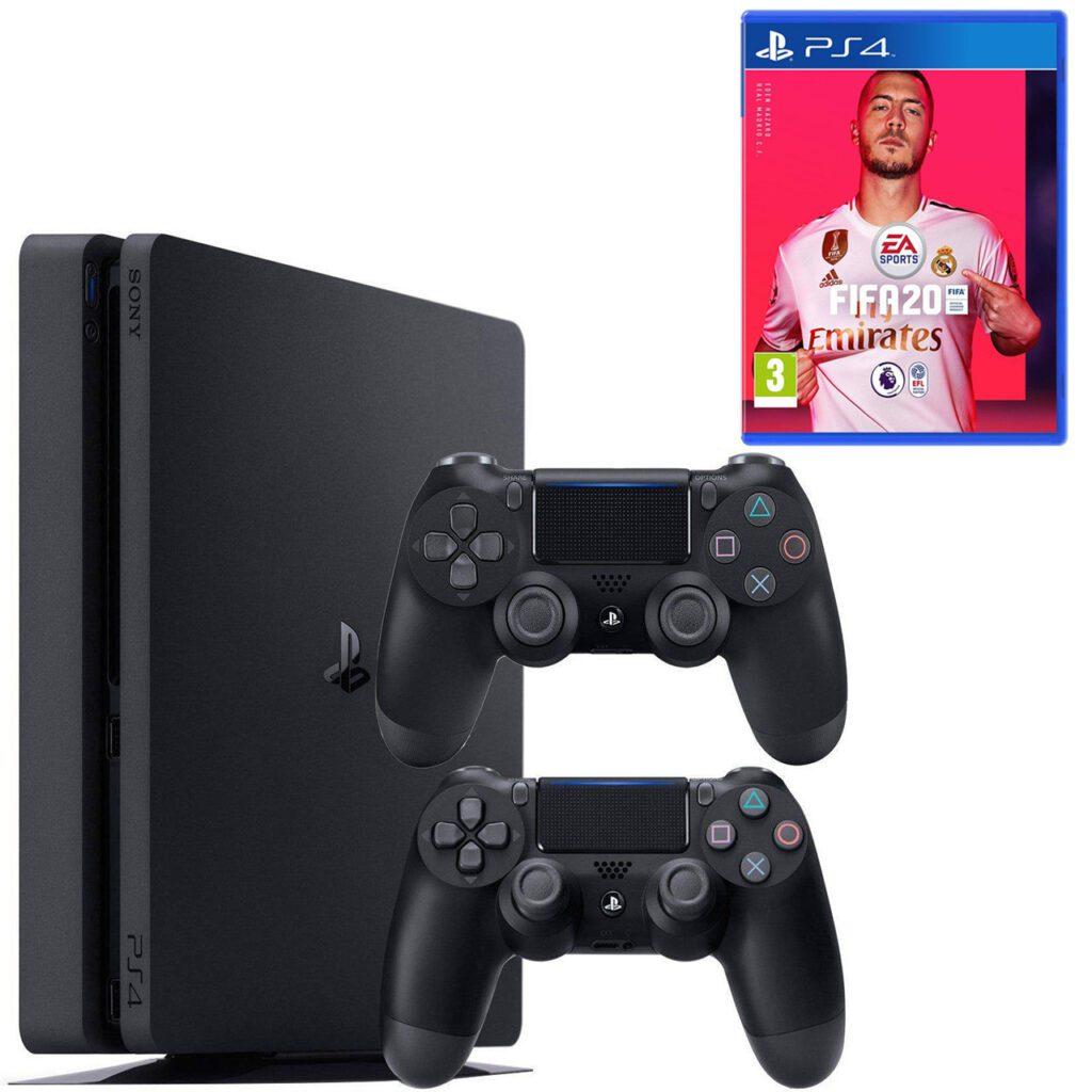 مجموعه کنسول بازی سونی مدل Playstation 4 Slim ریجن 2 کد CUH-2216B ظرفیت 1 ترابایت