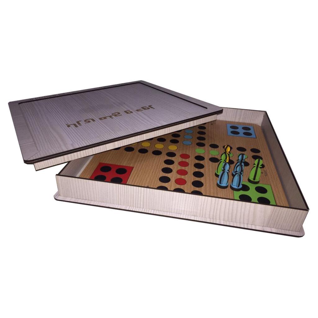 بازی فکری منچ و دوز مدل lc402