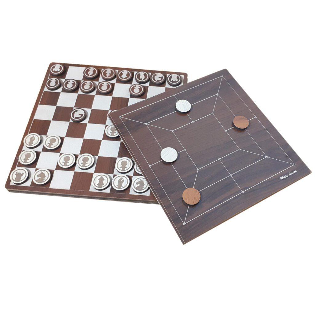 بازی فکری مها دیزاین طرح شطرنج و دوز کد 5000