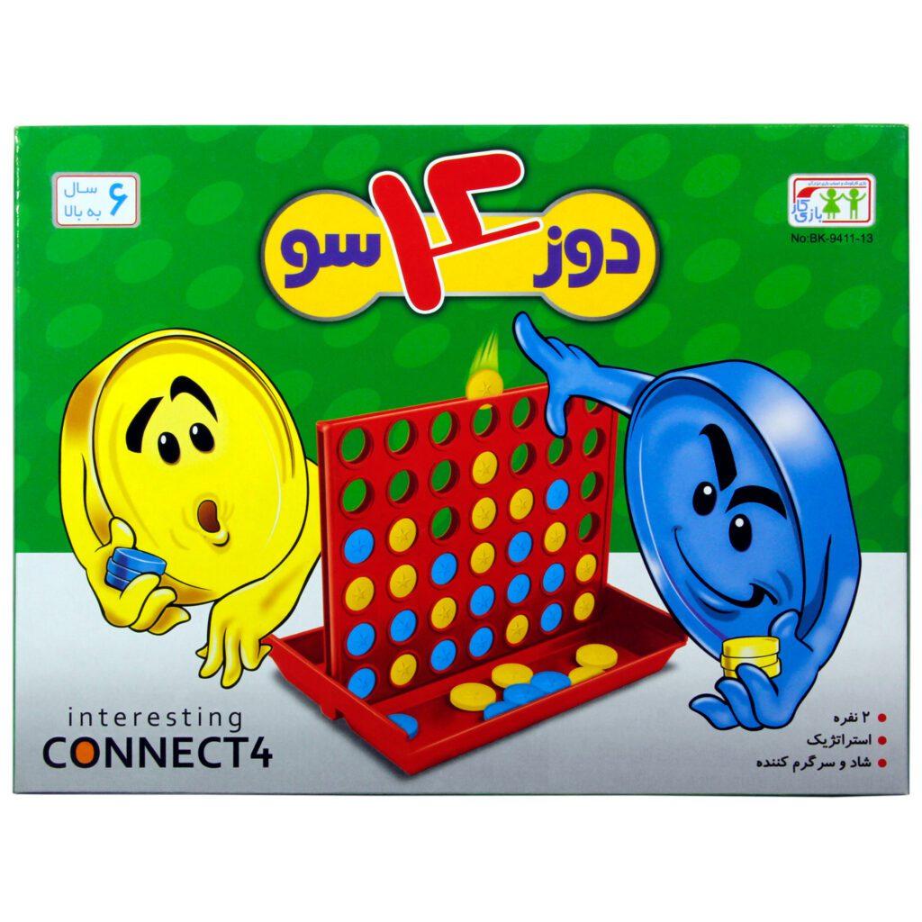 بازی فکری بازیکار مدل دوز 4سو کد BK-9411-13