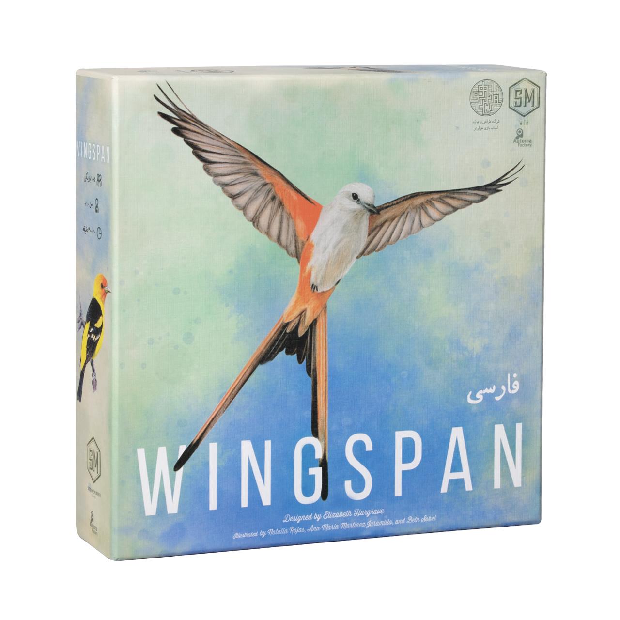 عکس بازی فکری مدل Wingspan