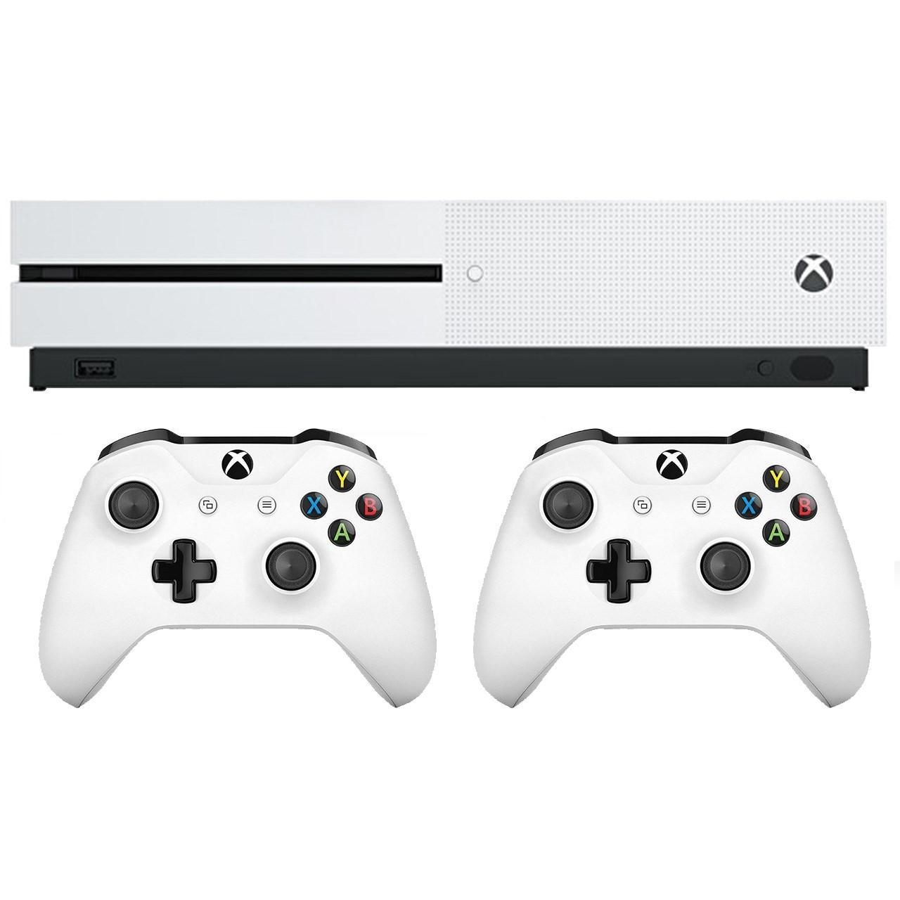 خرید مجموعه کنسول بازی مایکروسافت مدل  Xbox One S ظرفیت 1 ترابایت
