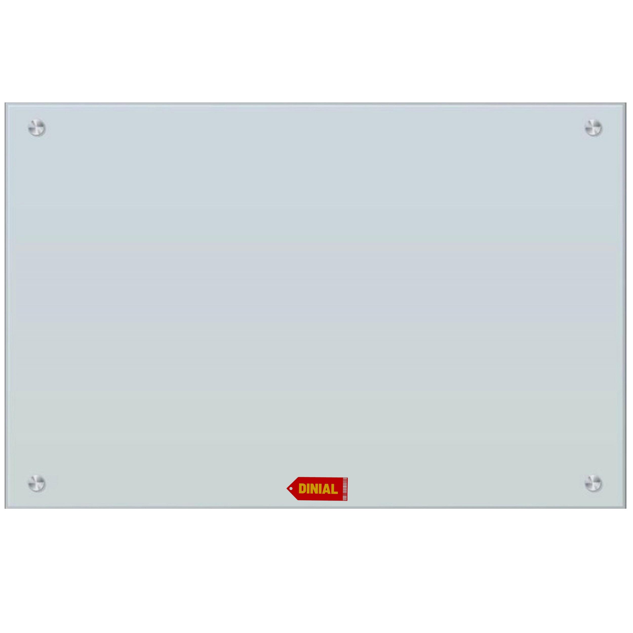 تخته وایت برد شیشه ای مدل DINIAL 7347 سایز 70×100 سانتی متر