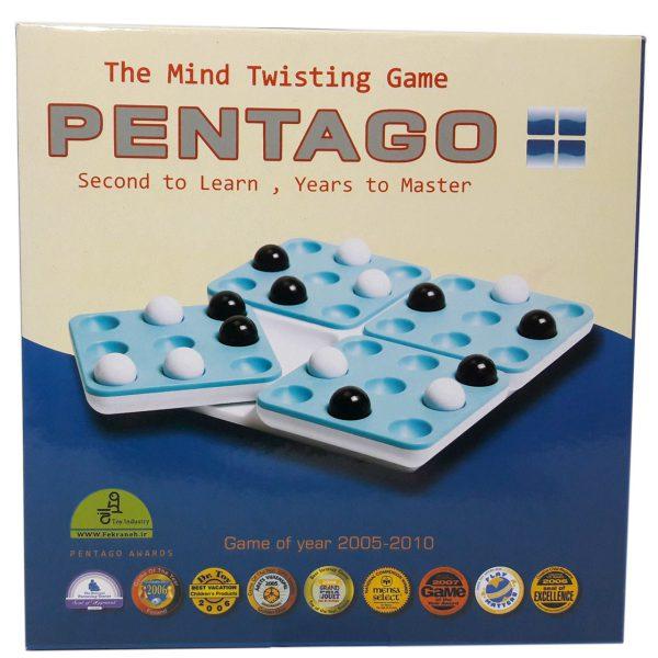 بازی فکری پنتاگو فکرانه مدل Pentago