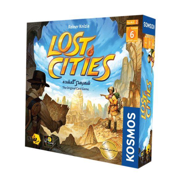 بازی فکری بازی کن مدل Lost Cities