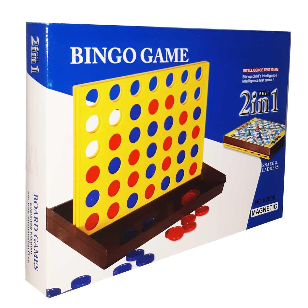بازی فکری دوز و مارپله مدل BINGO
