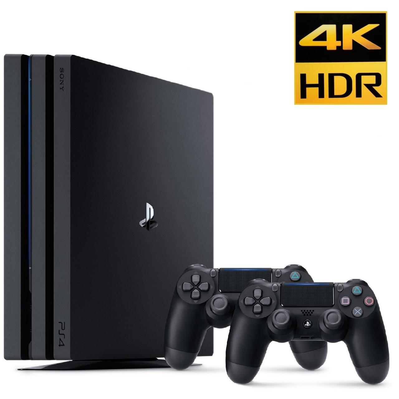 خرید کنسول بازی سونی مدل  Playstation 4 Pro 2018 کد CUH-7216B Region 2 ظرفیت 1 ترابایت