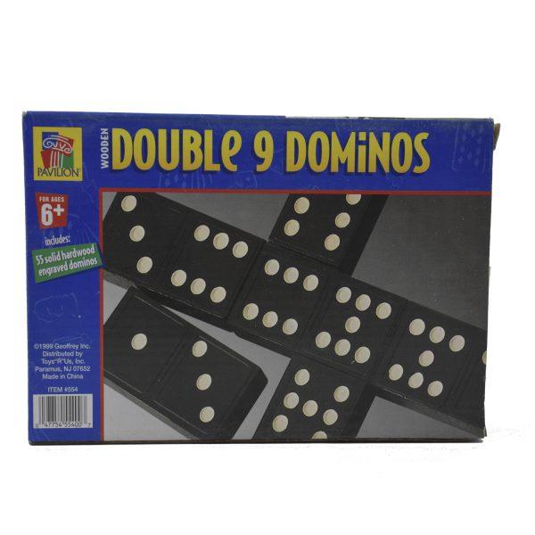 بازی فکری طرح دومینو مدل double 9