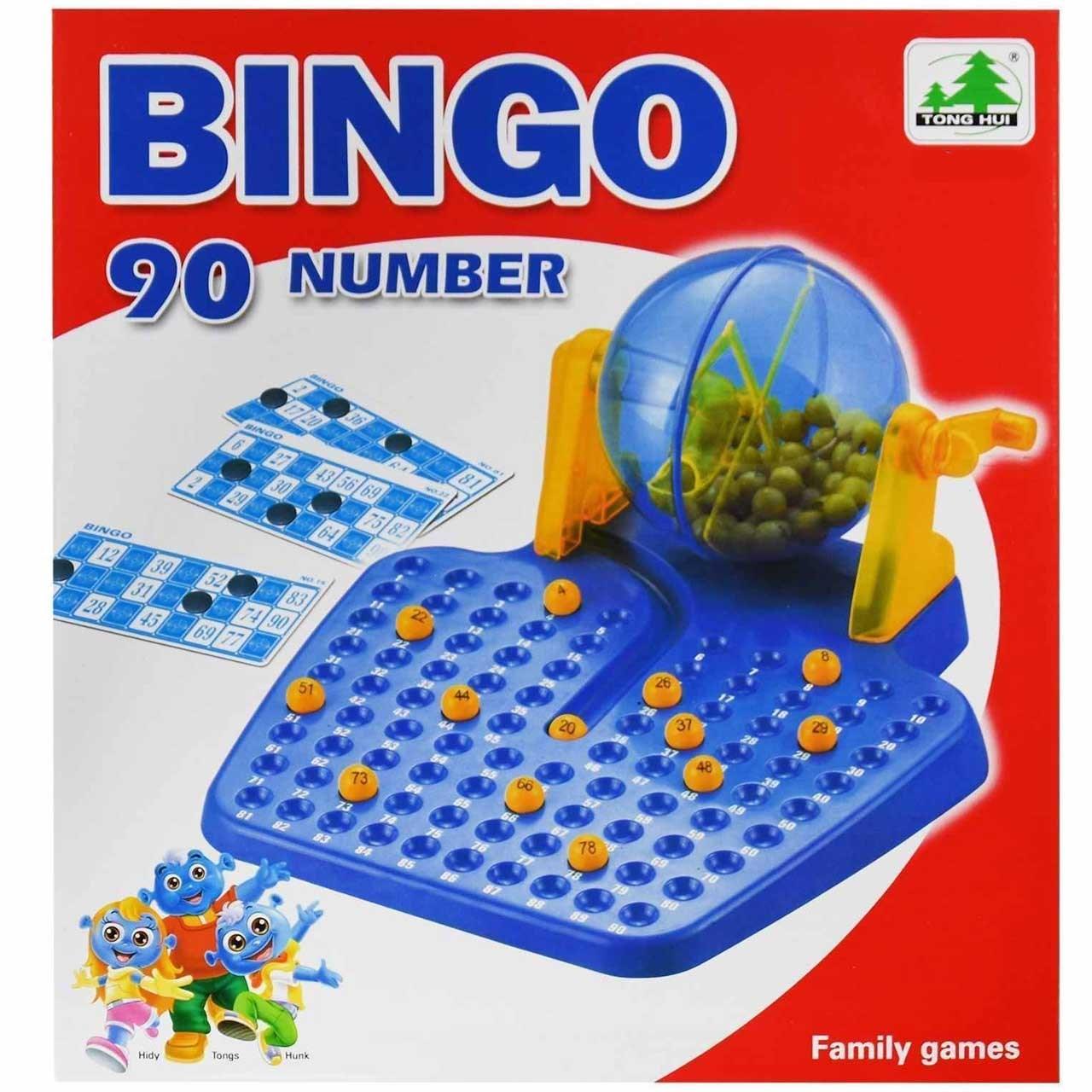 دبرنا گردان 48 کارته مدل Bingo Lotto 876