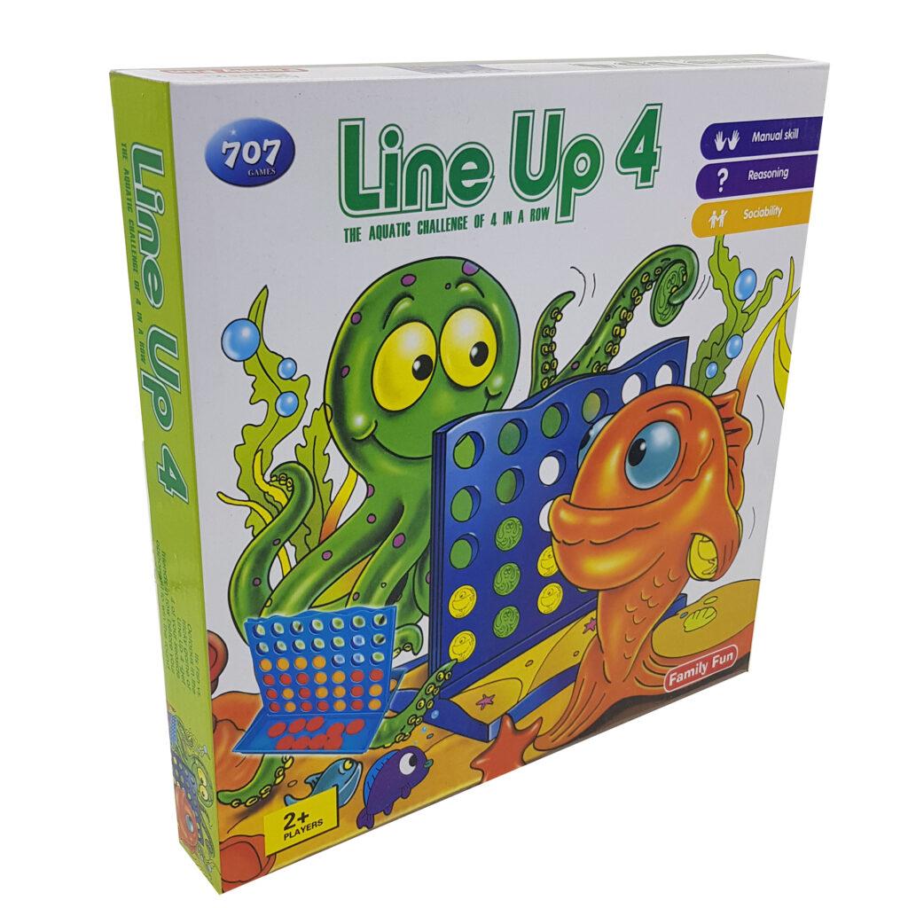 بازی فکری دوز مدل Line Up 4