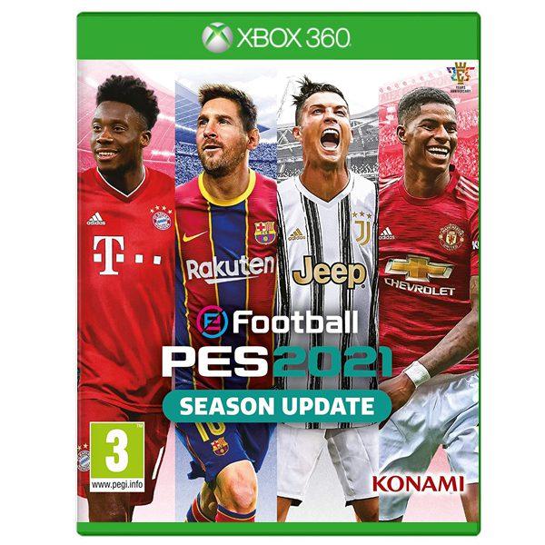 عکس بازی PES 2021 مخصوص Xbox 360