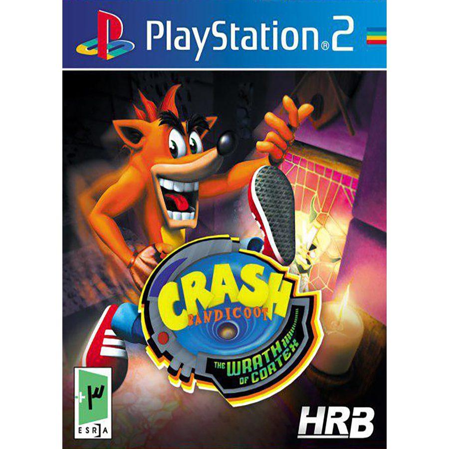 بازی Crash Bandicoot: The Wrath of Cortex مخصوص PS2